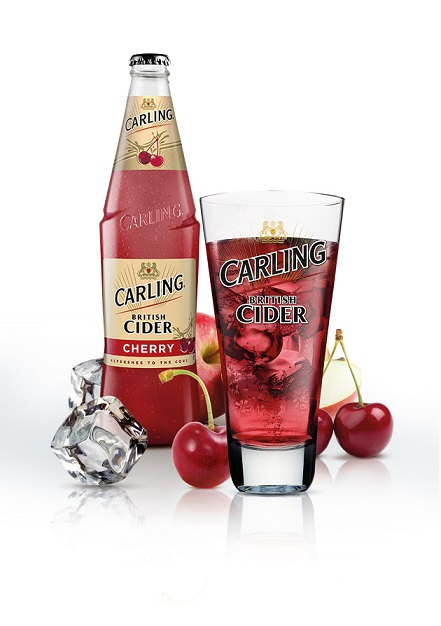 Carling Cherry Cider